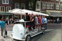 Beer bike for stag weekends