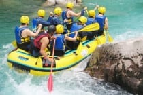 white water rafting for stag weekends