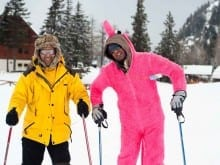 skiing stag do
