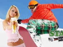 ski stag do holiday
