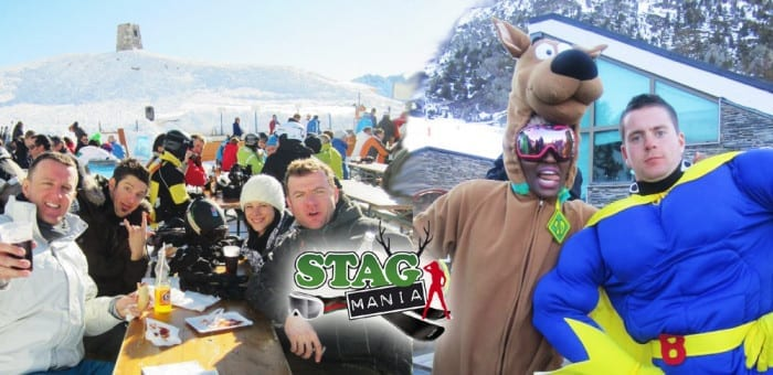 Snowbombing ski stag weekend