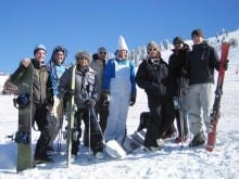 ski stag party in Borovets ski resorts